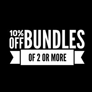 Other - 10% OFF BUNDLES 2+